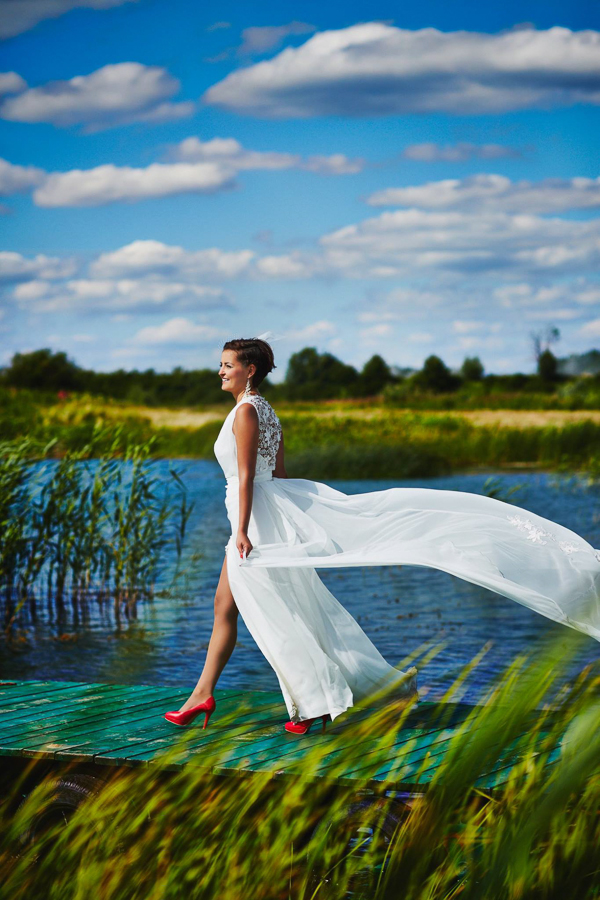 Cherish the dress - We say Yes! Nowy trend w fotografii ślubnej