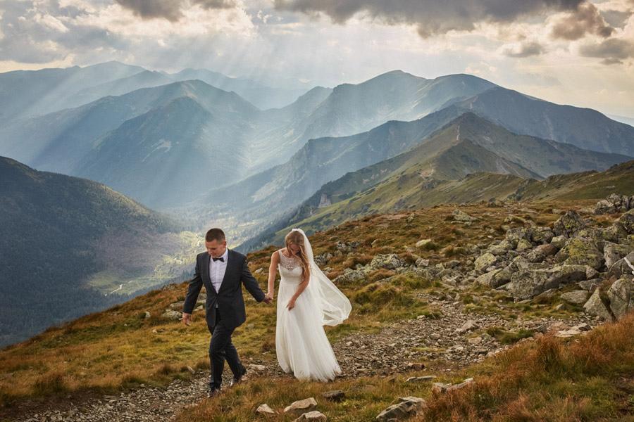 Plener ślubny w zakopane