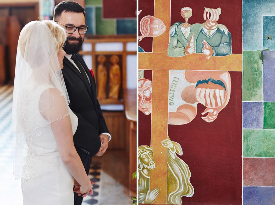 fotograf ślubny Parafia Matki Bożej Szkaplerznej w Drohobyczce