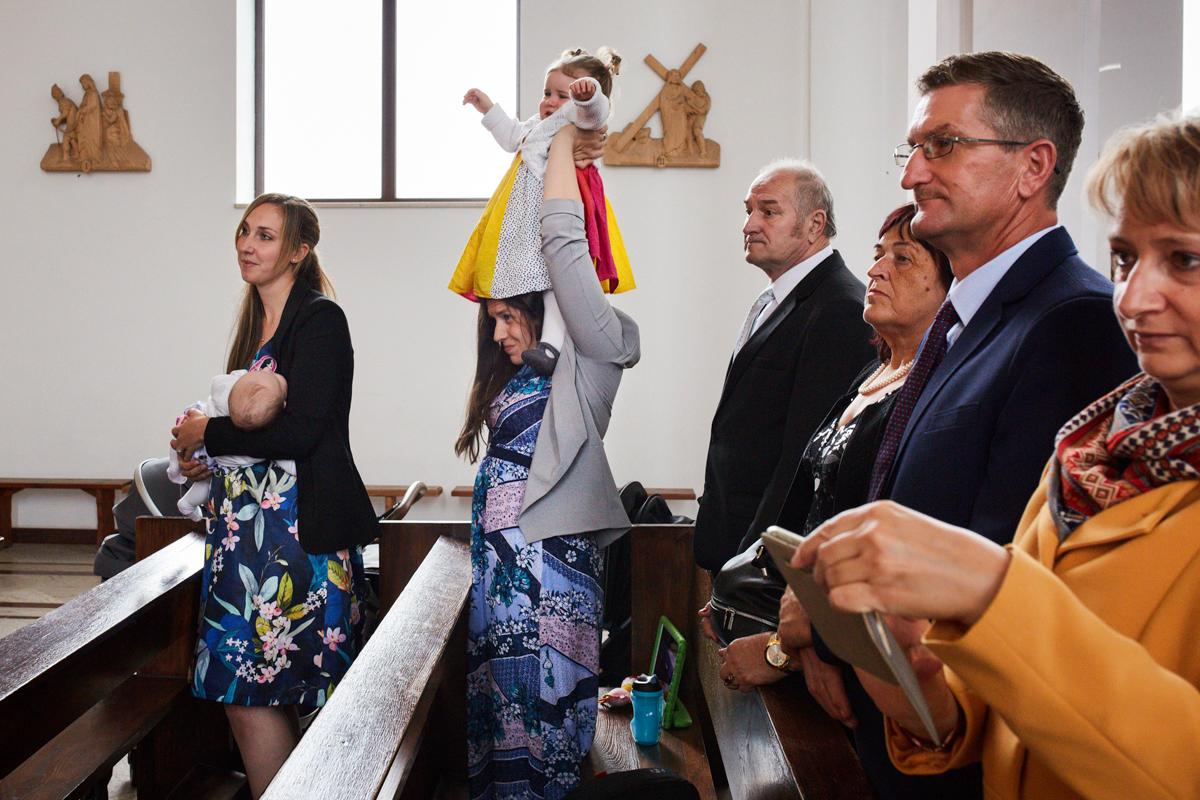 wyjście z kościoła tarnów