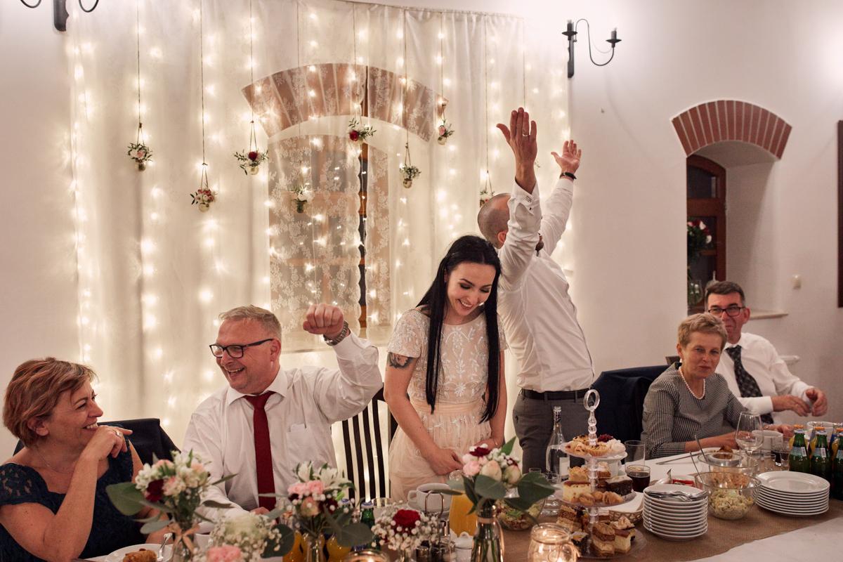 przyjęcie weselne w stylu rustykalnym tarnów