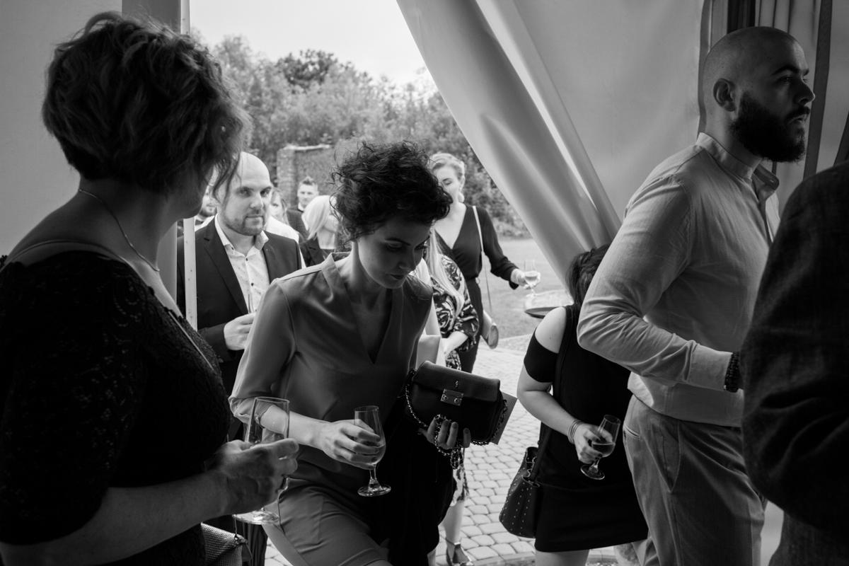 przyjęcie weselne pod namiotem małopolska