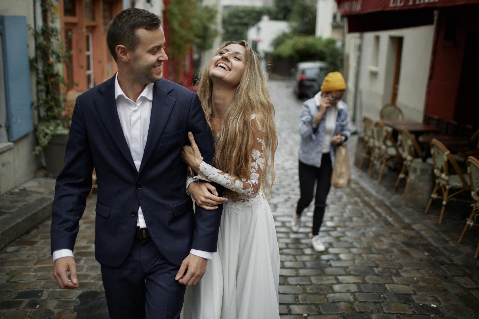 zdjęcia ślubne z paryża