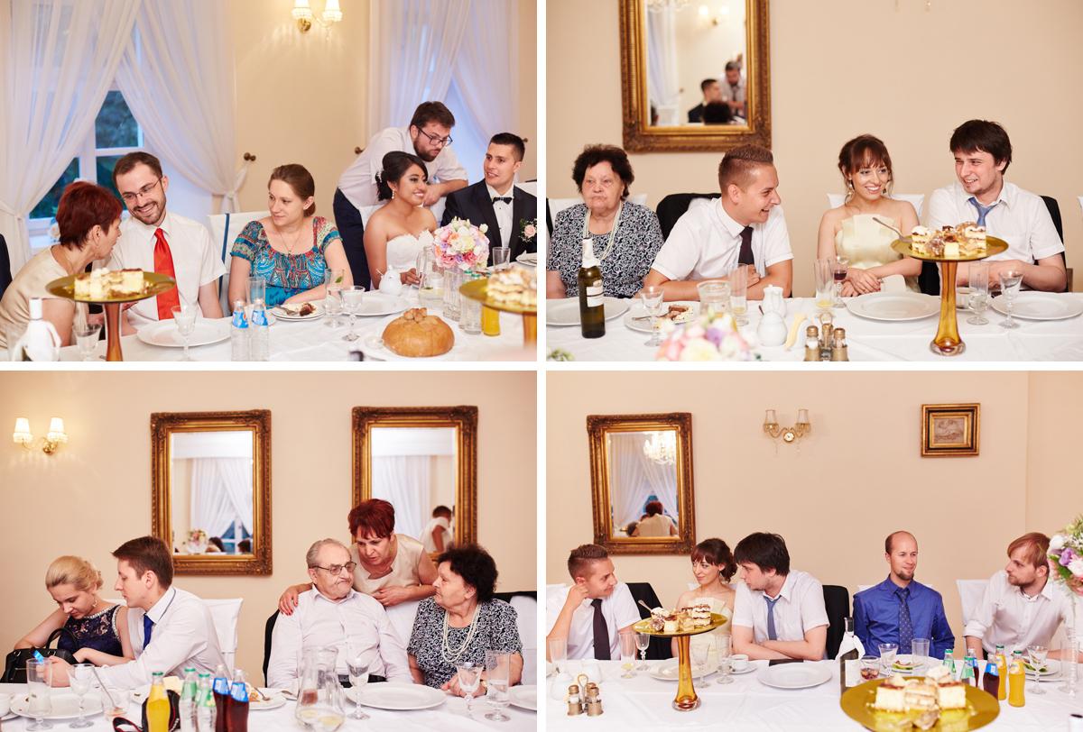 przyjęcie weselne w bistuszowej