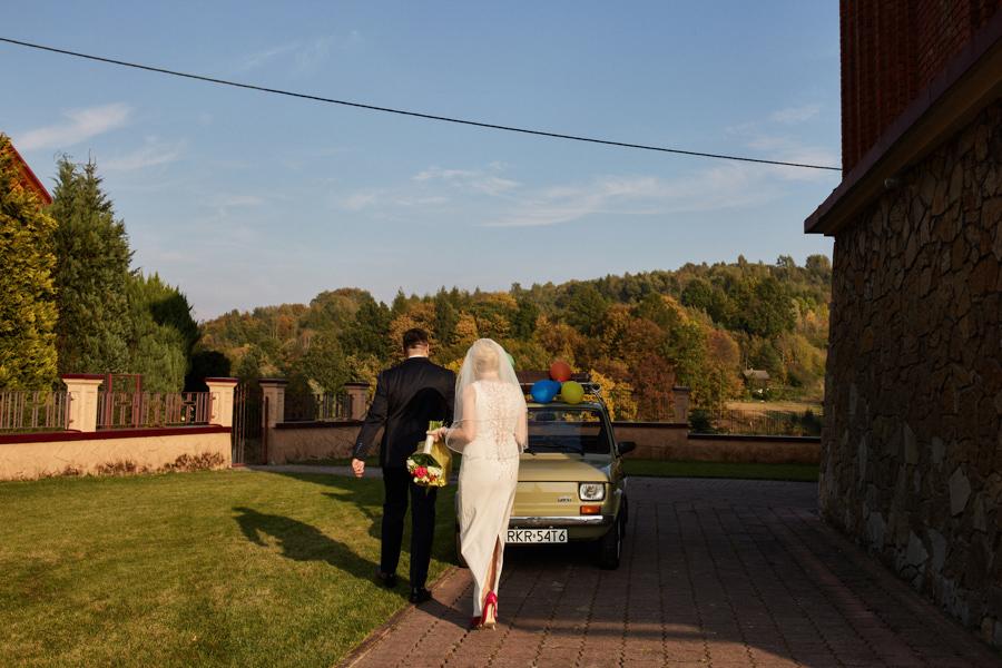 maluchem na ślub