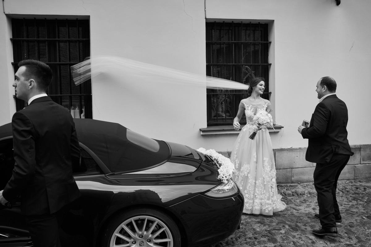 porsche auto ślubne tarnów