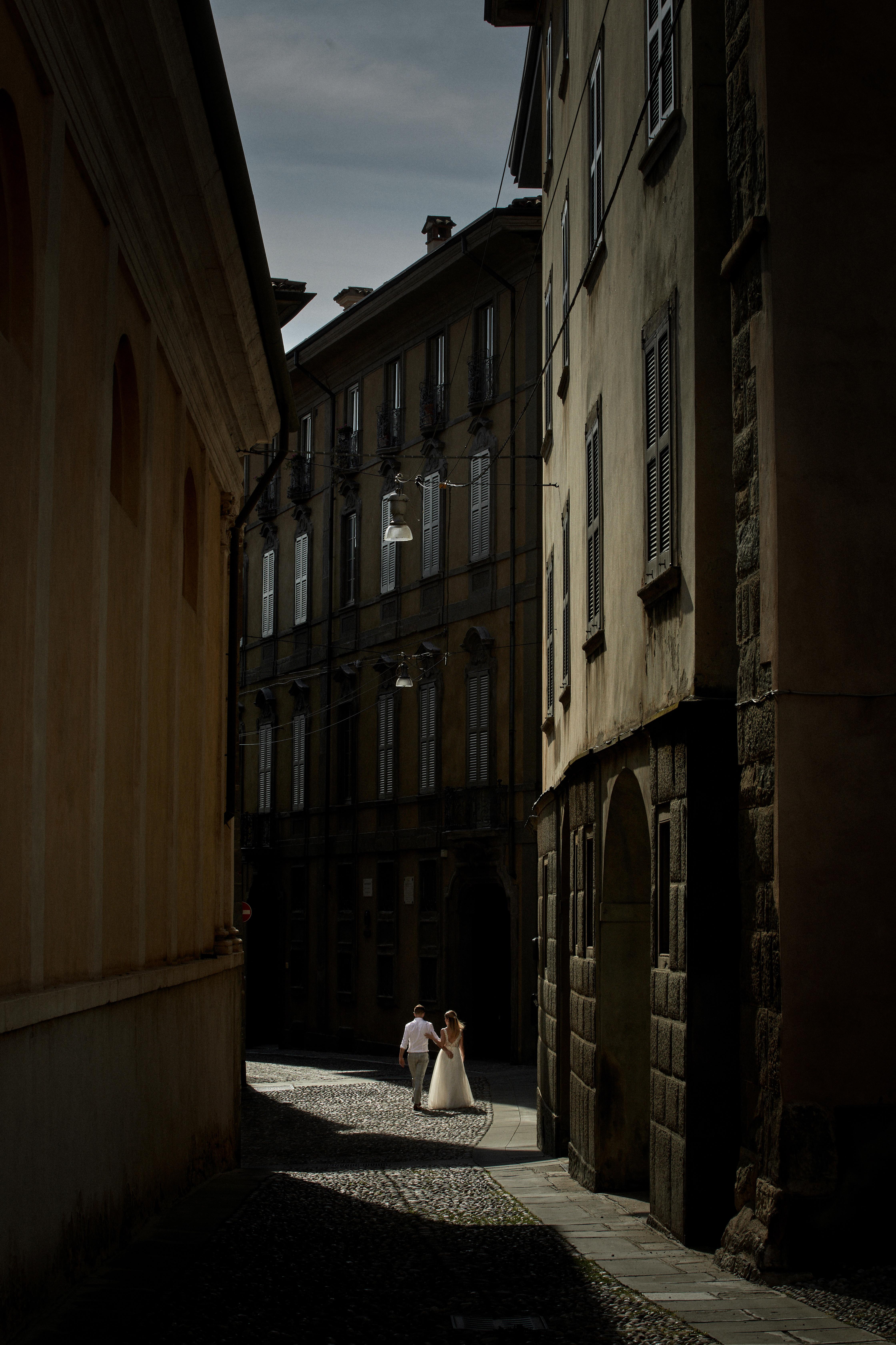 plener ślubny Bergamo