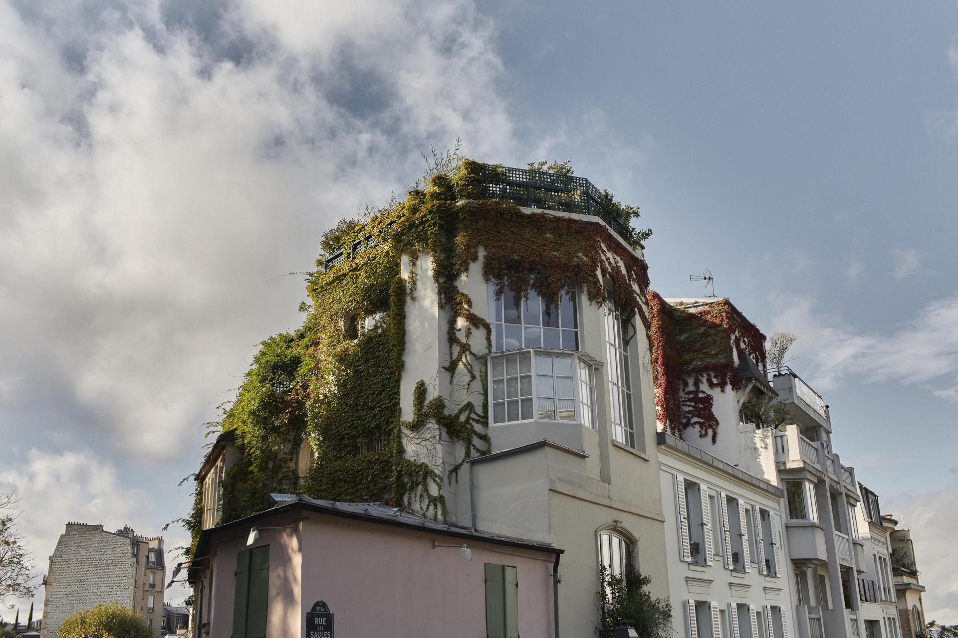 zdjęcia Montmartre na sesji ślubnej w Paryżu