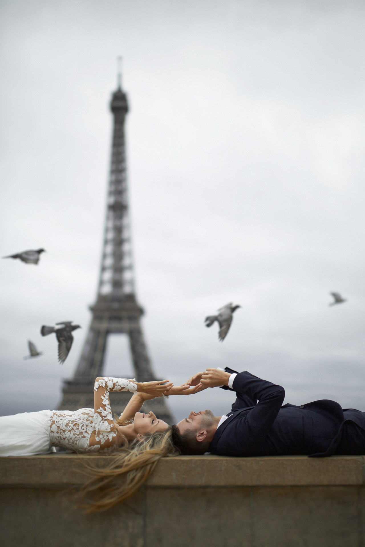 Paryż - sesja ślubna za granicą