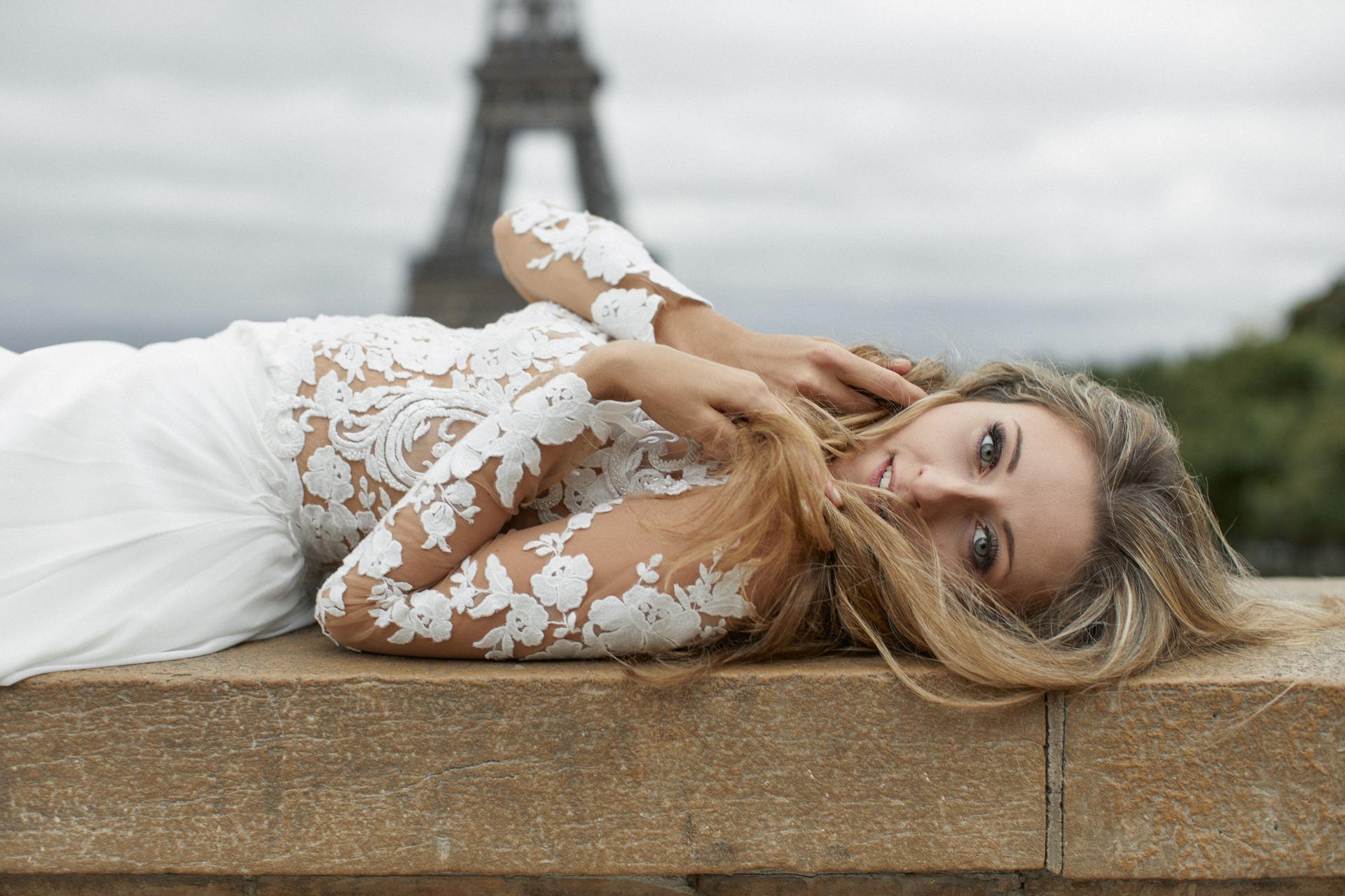 plener ślubny za granicą - Paryż