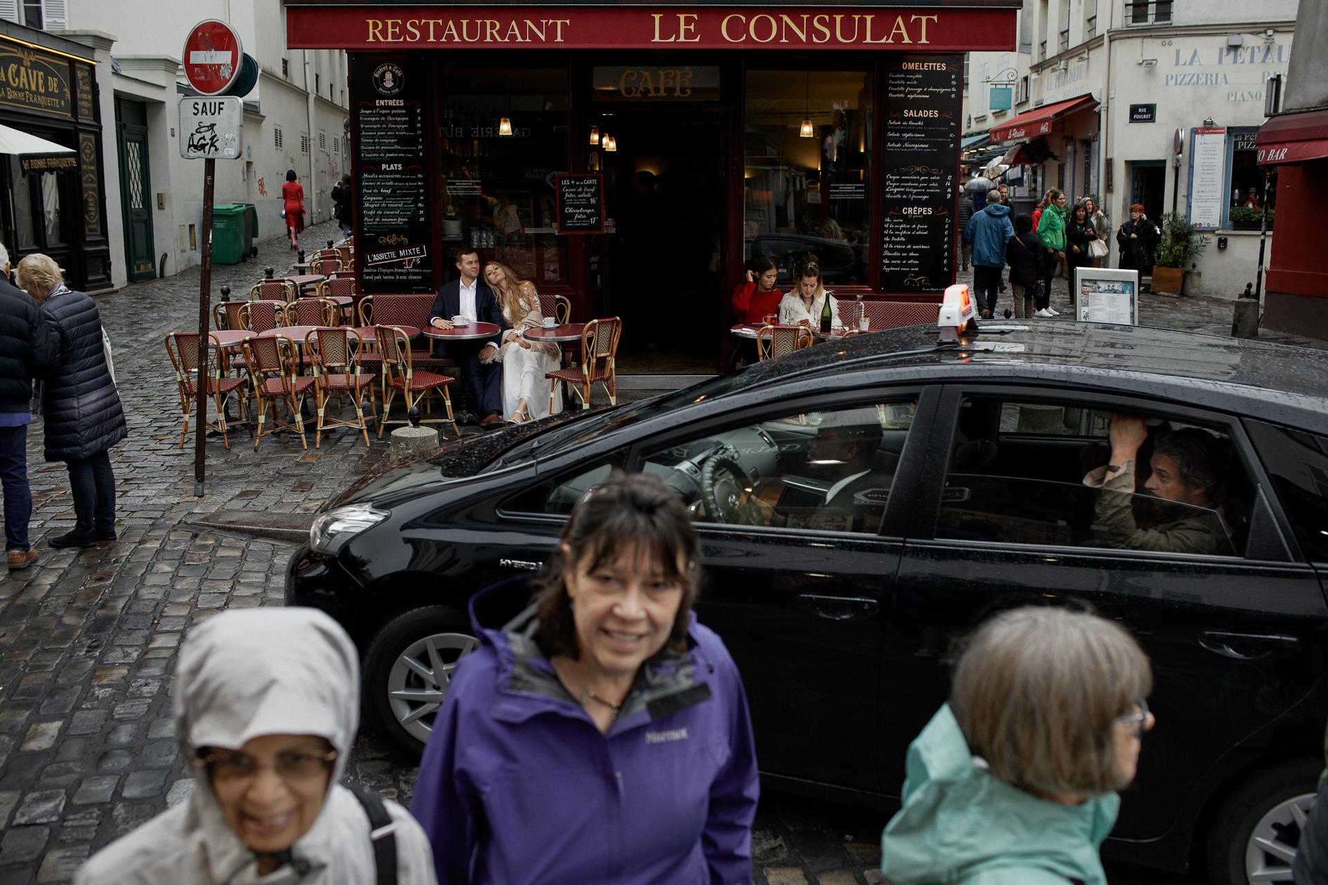 restaruacja le consulat paris - zagraniczny plener ślubny