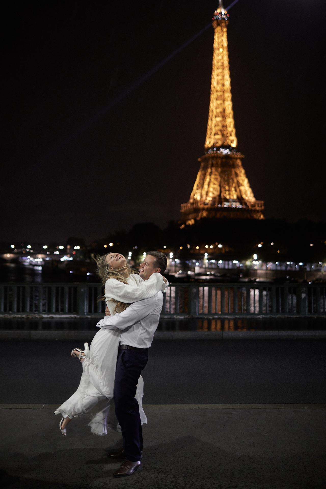 sesja za granicą i ślub w Paryżu