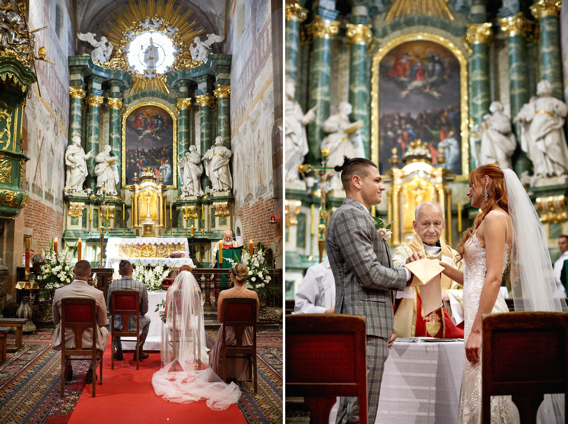 ślub w opactwie cystersów w sulejowie